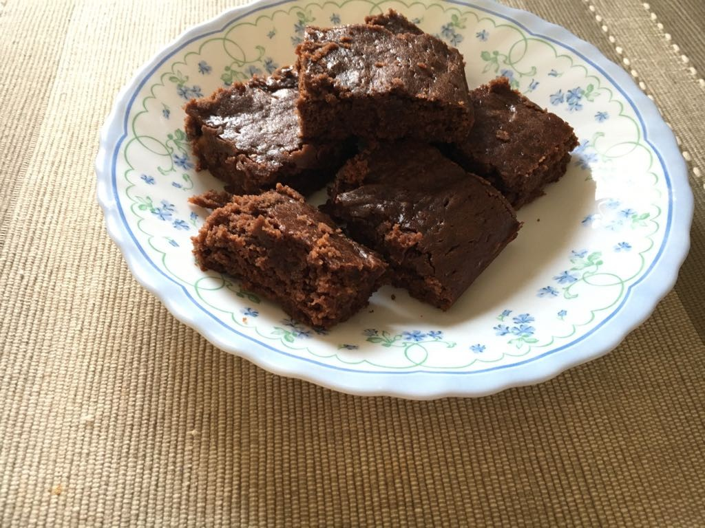 Gluten free Guilt Free Chocolate Brownies