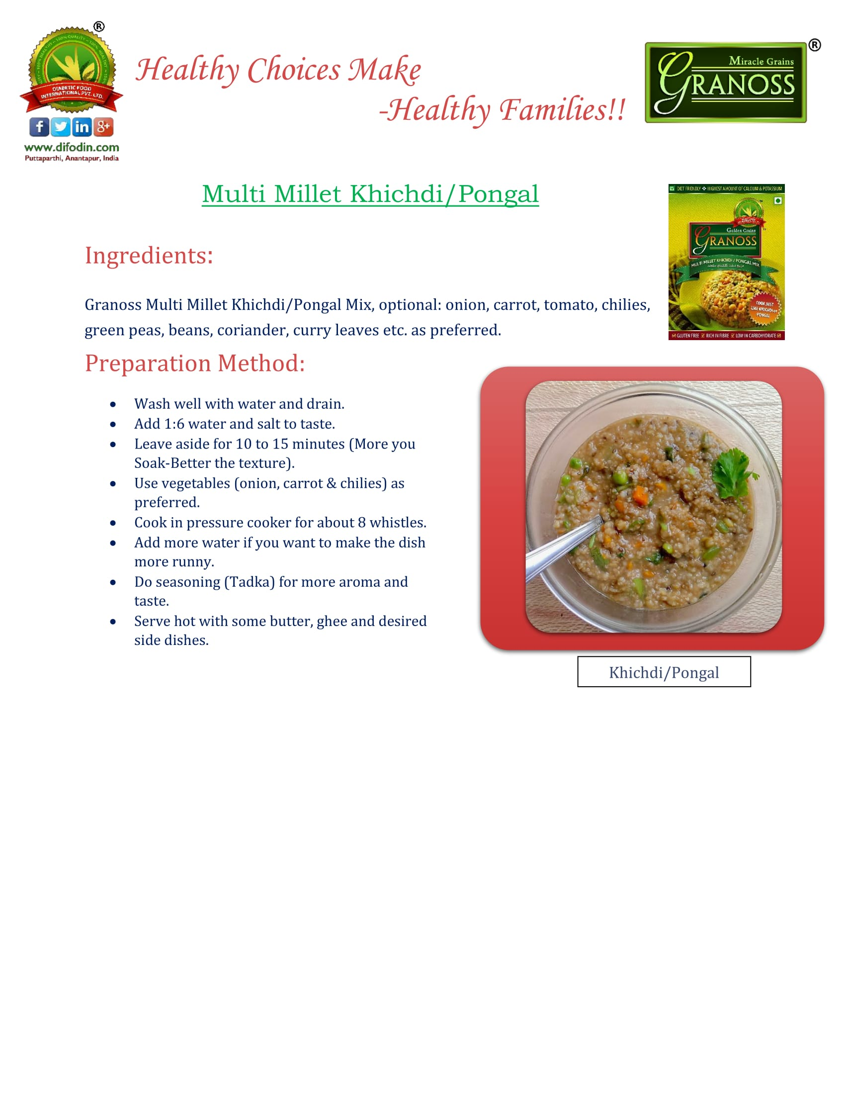 Recipe-Vegetable -Biryani